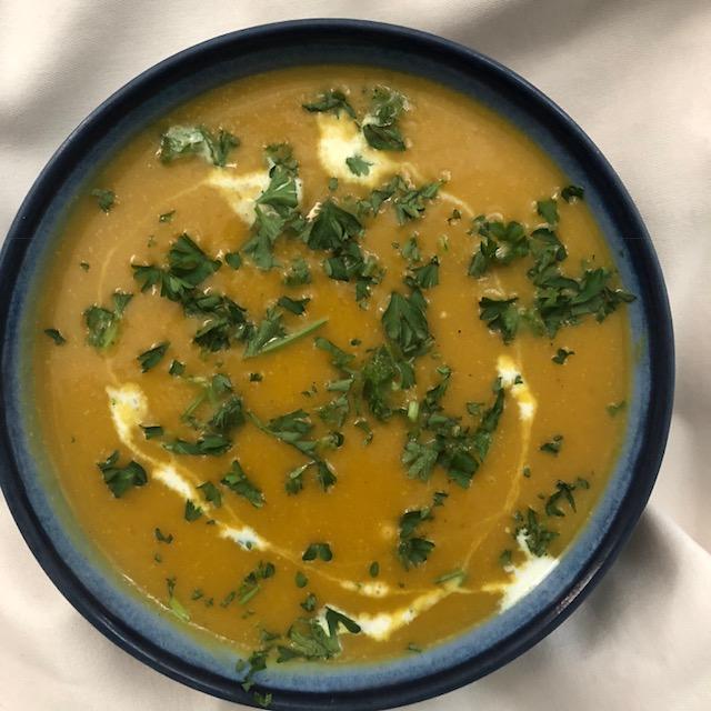 Turmeric Pumpkin Soup
