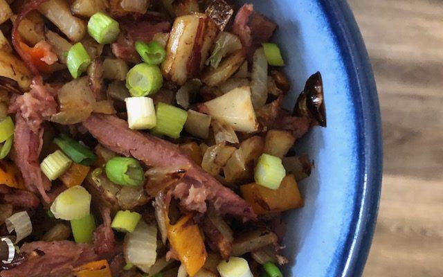 Homemade Corned Beef Hash