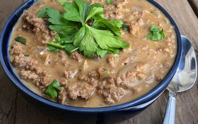 30 minute meals: Beef Stroganoff