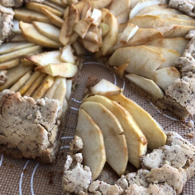 Grain Free and Vegan Apple Crostata