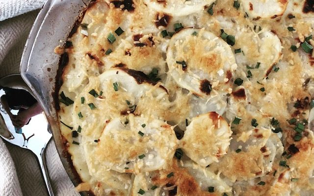 Dairy Free Scalloped Potatoes