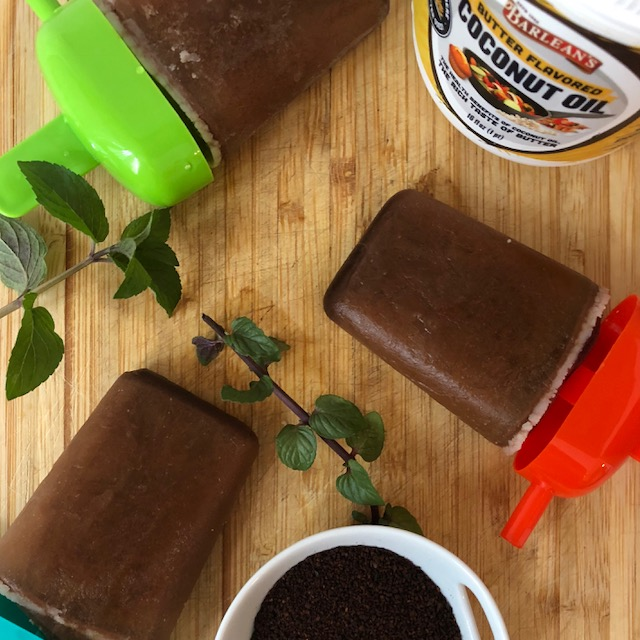 Keto Bulletproof Fudgsicles