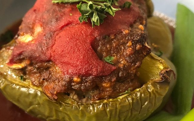 Whole 30 Approved Stuffed Peppers
