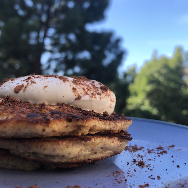 Low Carb Pancakes and My Childhood Reminisce