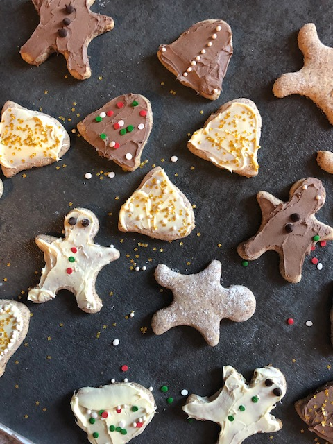 Paleo Christmas Cut Out Cookies