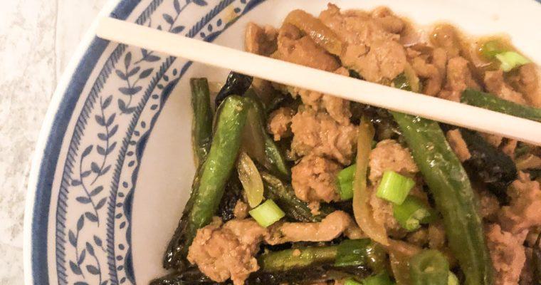 Whole30 Sichuan Green Beans