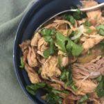 Slow Cooker Lemongrass Pork