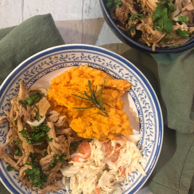Slow Cooker Lemongrass Pulled Pork