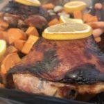 Sheet Pan Honey Garlic Turkey