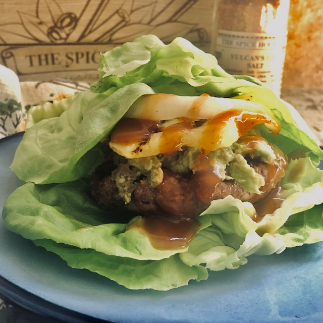 Mexican Lettuce Wrap Burgers