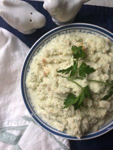 Roasted Mashed Cauliflower
