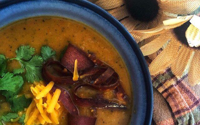 Easy Pumpkin Coriander Soup