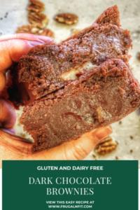 Gluten free brownies pin